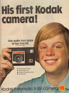 This goes along with my theme of arising technology. Kodak was becoming popular during this time.