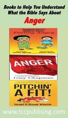 Books to Help You Understand What the Bible Says About Anger #angerbook #angermanagement #christians