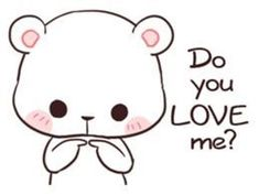 Bear Couple : Milk & Mocha by Shortie sticker Cute Cartoon Images, Cute Couple Cartoon, Cute Cartoon Wallpapers, Gif Lindos, Memes Lindos, Cute Love Gif, Cute Cat Gif, Draw So Cute, Cute Bear Drawings