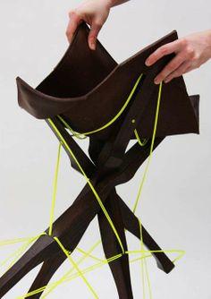 kreuzband stool by judith jacobi