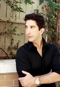 David Schwimmer. SO. DARN. CUTE!!!