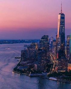 One World Trade Center at night by New York City Bronx Nyc, New York City Map, York Hotels, New York Pictures, One World Trade Center, New York Life, Manhattan New York, City Wallpaper, Landscape Photography