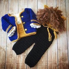 Beast Inspired Costume/Beauty and the Beast/Crochet Beast