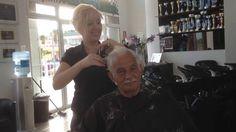 How to cut  Classic Gentlemen's Hair  Haircut 2016 - mannen Kniptechniek...