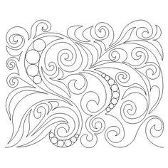 Edge To Edge – Page 31 – Anne Bright Designs Machine Quilting Patterns, Quilt Block Patterns, Machine Embroidery, Quilting Ideas, Quilt Blocks, Quilting Stencils, Longarm Quilting, Free Motion Quilting, Arabesque
