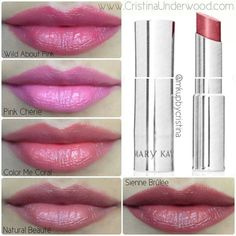 True Dimensions ( Wild About Pink, Pink Cherie, Color Me Coral, Nature Beaute, Sienne Brulee)