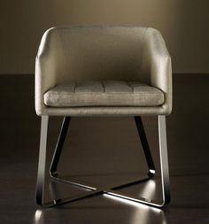contemporary armchair LOLITA  MERIDIANI