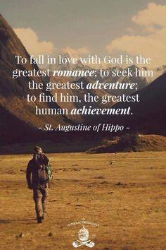 Greatest romance - always be in love w/ Jesus Christ‼️