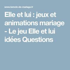 animation mariage qui veut gagner des millions