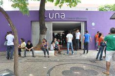 O movimento começou cedo no Campus Liberdade. Às 12h o campus já recebia os primeiros candidatos para as provas.