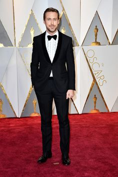 Oscars 2017: Ryan Gosling Remains Unruffled in Gucci | Tom + Lorenzo