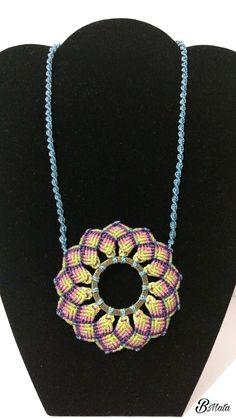 Mandala macrame Pastel, Stuff To Buy, Jewelry, Art, Macrame Jewelry, Jewels, Templates, Shells, Mandalas