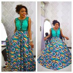 Top Ten Beautiful Ankara Styles And Aso Ebi Styles  Dabonke African Fashion Ankara, Latest African Fashion Dresses, African Print Fashion, African Prints, Ghanaian Fashion, African Patterns, Nigerian Fashion, Long Ankara Dresses, Ankara Gown Styles