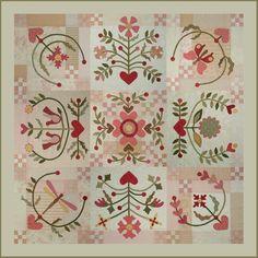 Según Alejandra Alcantara,  un quilt Baltimore  Es uno de los estilos de Quilt más admirados y reconocidos instantáneamente debido a q...