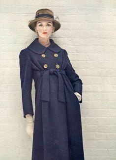 Lucinda Hollingsworth, photo by Karen Radkai, Vogue 1956