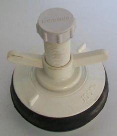 """Nylon Plastic Soil Pipe Drain Plug 4"""""""