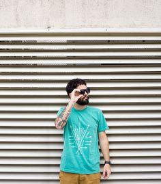Camiseta minimalista pra combinar com seu estilo urbano