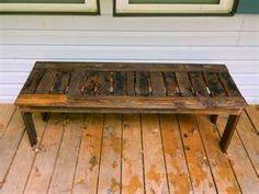 Pallet Bench *prayer bench*