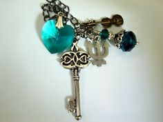 Sailor Neptune Henshin Transformation Wand Necklace. $20.00, via Etsy.