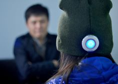 The Beanie Hat is a convergence of warmth and music, with a built-in 2GB MP3 player with eight hours of battery life.