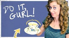 Do It, Gurl - DIY Candle In A Tea Cup, via YouTube.