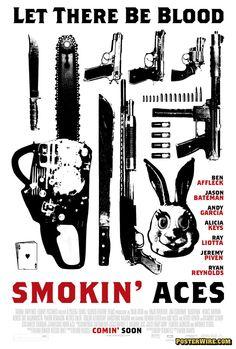 Smokin' Aces movie poster.