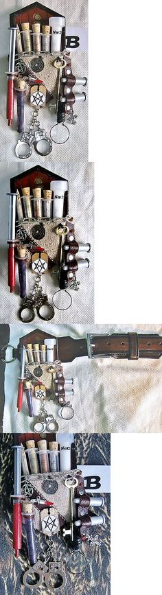 Bags and Pouches 175641: Hunter Magician Supernatural Monster Steampunk Kit Embellishment Grey Suede B -> BUY IT NOW ONLY: $32 on eBay!