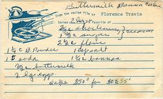 A 1950s recipe. For some more detailed instructions, let's consult the version from the September 8, 1955 edition of The Racine (Wisconsin) Journal-Times: Buttermilk Banana Cake (Makes one 9 inch s...