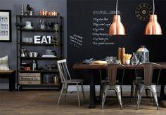 Añade un poco de cobre en la decoración de tu hogar, uno de los espacios donde vuelve el cobre con más fuerza es en la cocina, con cazos, lámpa...