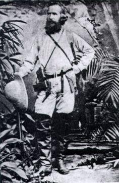 Ernst Haeckel in Ceylon in the year 1881