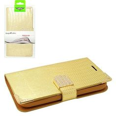 Gold Diamond  Leather Case Cover For Alcatel One Touch Fierce 2 Pop Icon  only 12.49$ free shipping to usa