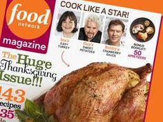 Food Network Magazine: November 2012 Recipes