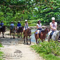 Horseback ride in Jamaica!