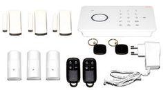 Valmiiksi paketoitu kokonaisuus. Sisältää GSM Touch-hälyttimen sekä ylimääräisen ovi- ja liikeilmaisimen. Helposti asennettavat langattomat ilmaisimet. Kulkunapin, kaukosäätimen, näppäimistön tai matkapuhelimen avulla asetat hälyttimen helposti päälle ja pois.