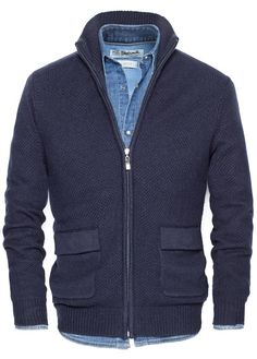 Zipper Cardigan ... HE By Mango