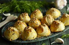 Szybkie bułeczki na jogurcie (bez drożdży) - niebo na talerzu Baked Potato, Potatoes, Baking, Ethnic Recipes, Food, Potato, Bakken, Essen, Meals