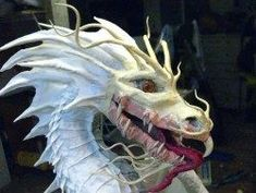"Amazing paper mache how-to blog by Dan ""The Monster Man"" Reeder"