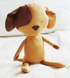 Sewing pattern for cloth toy dog