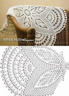 Bildergebnis für mandalas tejidos al crochet patrones Crochet Table Runner Pattern, Free Crochet Doily Patterns, Crochet Doily Diagram, Crochet Tablecloth, Crochet Chart, Crochet Motif, Crochet Designs, Filet Crochet, Thread Crochet