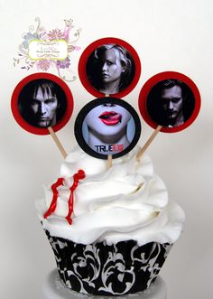 True Blood Faux Cupcake Decoration, via Etsy.