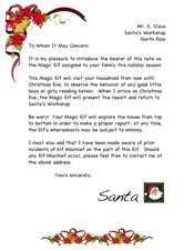 Magic Elf Letter 4