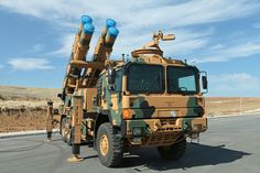 Turkey Defence Industrie Rocketsan (Tr:Roketsan) TR-302G (Tr:KAPLAN)-(Eng:Tiger) 120+km range Guided rocket system