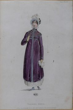 Walking Dress, 1814, English