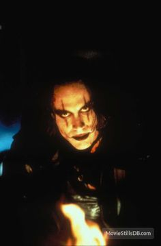 the crow, brandon lee, and eric draven image