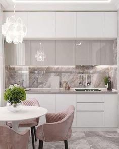 Luxury Kitchen Design, Kitchen Room Design, Home Decor Kitchen, Interior Design Kitchen, Kitchen Ideas, Diy Kitchen, Kitchen Storage, Kitchen Modern, Kitchen Pantry