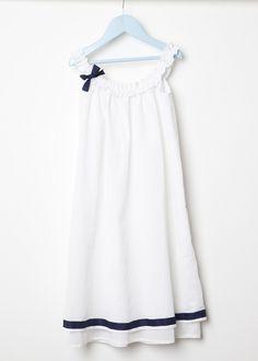 DIY: Nachthemd nähen // Sew a nightdress via DaWanda.com
