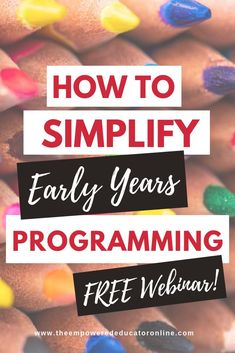 Early Childhood Programming Made Simple but Effective – Part 1 - The Empowered Educator Play Based Learning, Project Based Learning, Early Learning, Fun Learning, Pre K Activities, Learning Activities, Teaching Ideas, Eylf Learning Outcomes, Planning Cycle