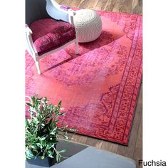 For our bedroom?—nuLOOM Vintage Inspired Overdyed Rug (8' x 10')