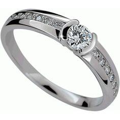 zásnubní diamantový prsten diamantové zásnubní prsteny