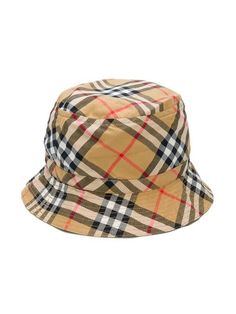 e593137763d5f Burberry Kids House Check bucket hat  140 - Buy Online - Mobile Friendly